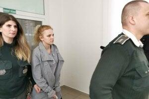 Alexandra požiadala o prepustenie z väzby.