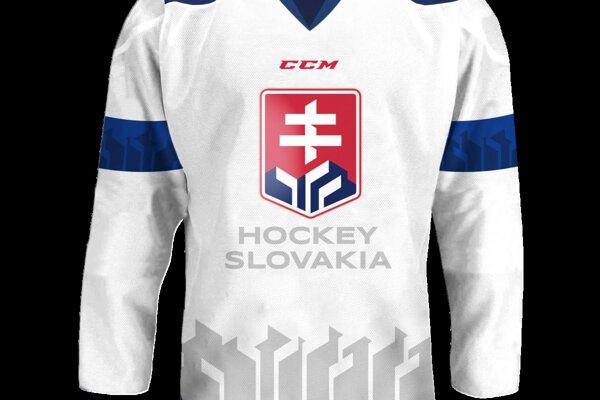 Hokejkový dres s troma zdvihnutými hokejkami majú nahradiť tri vŕšky.