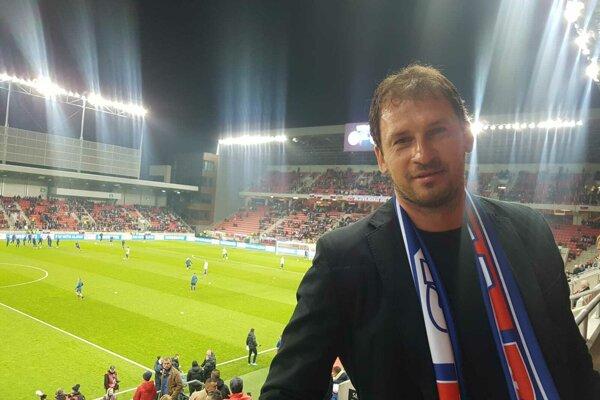 Bývalý mládežnícky reprezentant si nenechal ujsť zápas Slovenska proti Maďarsku.