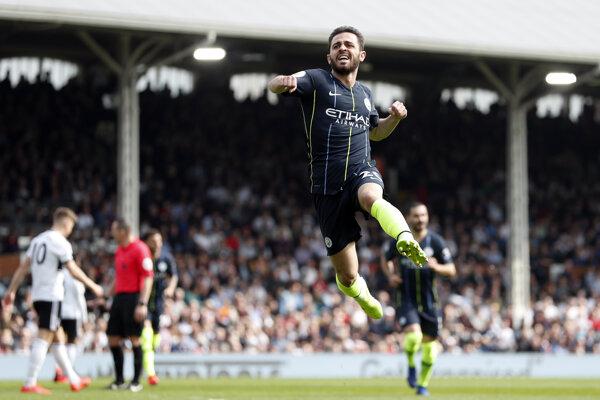Hráč Manchesteru City Bernardo Silva.