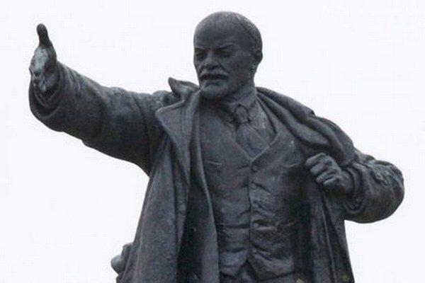 Veľkokrtíšskej radnici sa sochu Lenina podarilo predať zberateľovi z Nemecka.