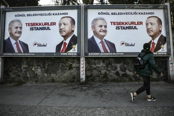 Erdoganov kandidát Binali Yildirim bol neúpešným kandidátom na primátora Istanbulu.