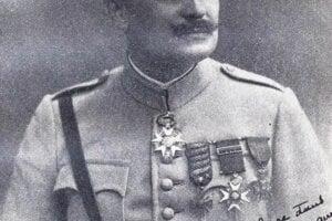 Francúzsky generál Hennocque.