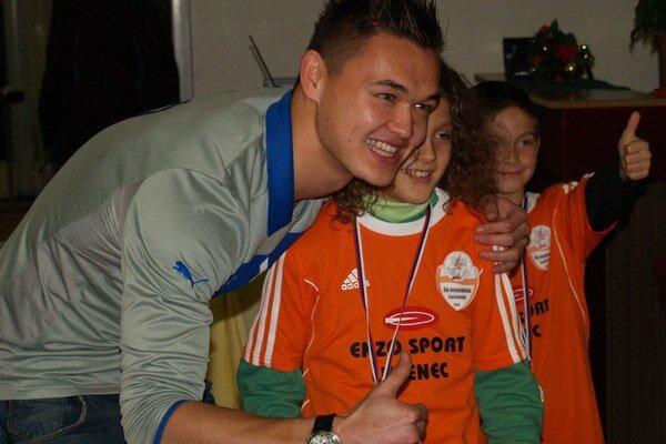 Fotenie s Patrikom Le Giangom po autogramiáde.