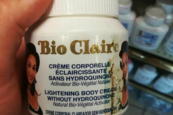 Hygienici varujú pred krémom na zosvetlenie pokožky.