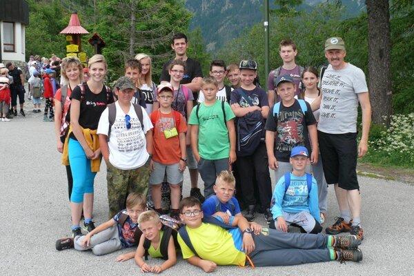 Deti si užili trojdňový výlet vo Vysokých Tatrách.