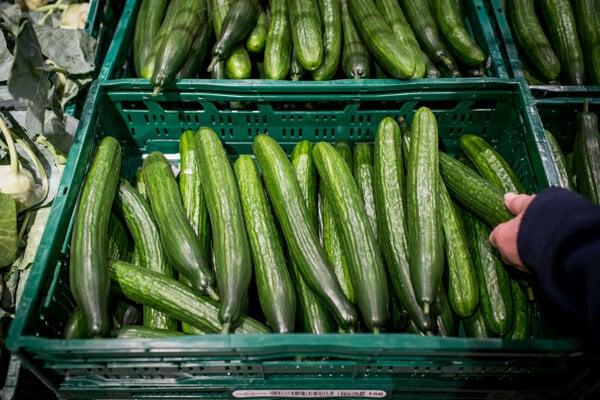 Šalátové uhorky bez fólie vydržia maximálne týždeň, šetria však prostredie.