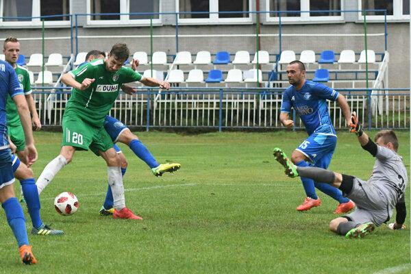 Prešov vyhral nad Šamorínom 2:0.