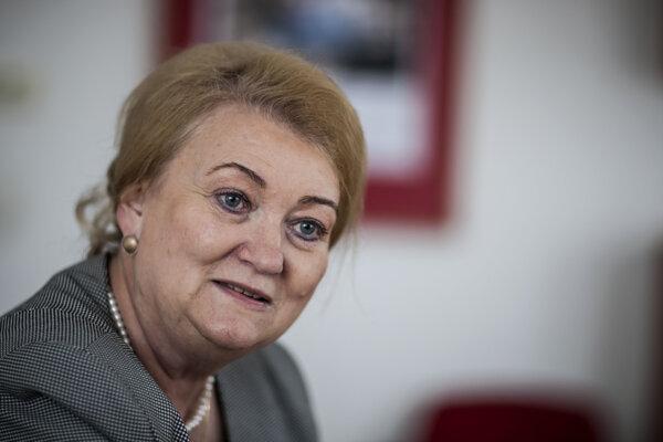 Europoslankyňa Anna Záborská.