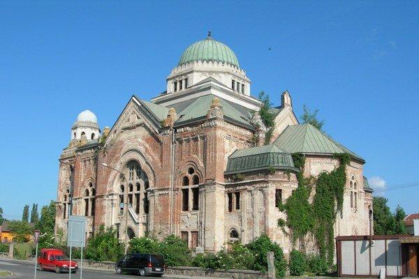 Synagóga je národnou kultúrnou pamiatkou, ktorá roky chátrala.