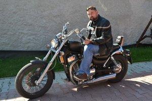 Táto motorka bola jeho sen.