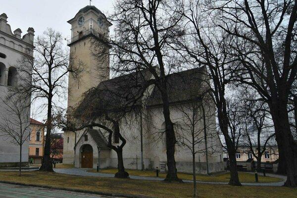 Kostol sv. Egídia v Poprade.