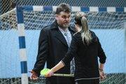 Peter Jurga, riaditeľ CVČ v Čadci pri zápase svojich zverenkýň.