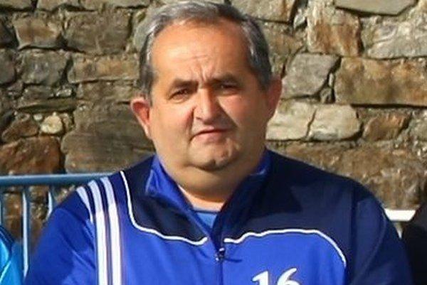 Ján Šága, tréner TJ Štart Kokava nad Rimavicou.