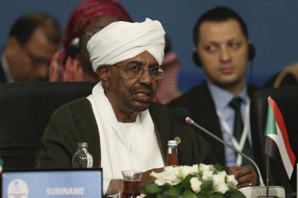 Sudánsky prezident Umar Bašír.
