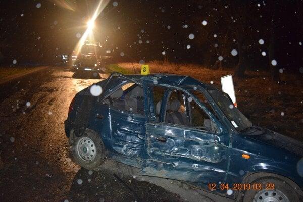Zraneniam podľahla 21-ročná spolujazdkyňa.