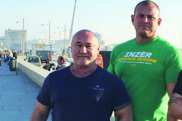 Ján Mráz (vľavo) má za sebou premiéru na svetovom šampionáte. Priniesol si zlato, vytvoril svetový rekord. Erik Susztay si v Porte siahol na bronz.