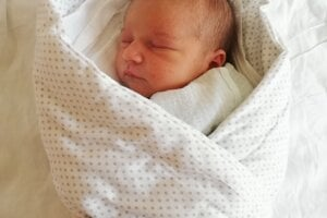 Alica Horňáková (3370 g, 50 cm) sa narodila 30. marca Simone a Petrovi z Novej Vsi nad Váhom.