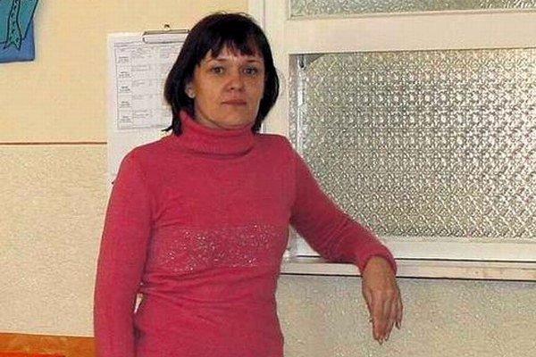 Renata Mihalková, vedúca školskej jedálne.