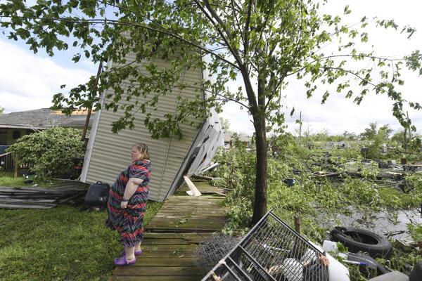 Juh USA zasiahli silné búrky a prívalové povodne.