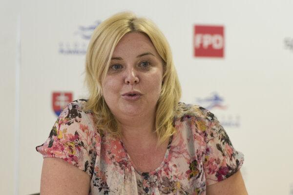 Bývalá prezidentka Slovenskej plaveckej federácie Irena Adámková.