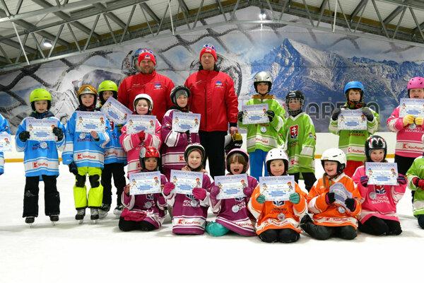 Detský korčuliarsky týždeň v Liptovskom Mikuláši.