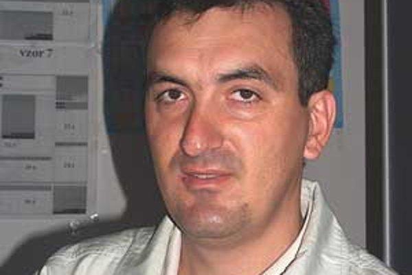 Predseda ZMON Milan Spodniak.