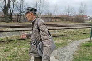 Levočan Pavel Suchý, kedysi vlakom cestoval do práce a z práce za 1,20 korún.