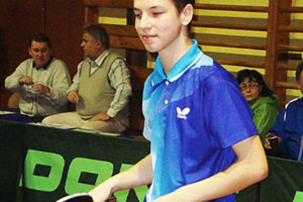 Najlepším hráčom lučeneckého tímu bol z pohľadu úspešnosti Ingemar Péter.
