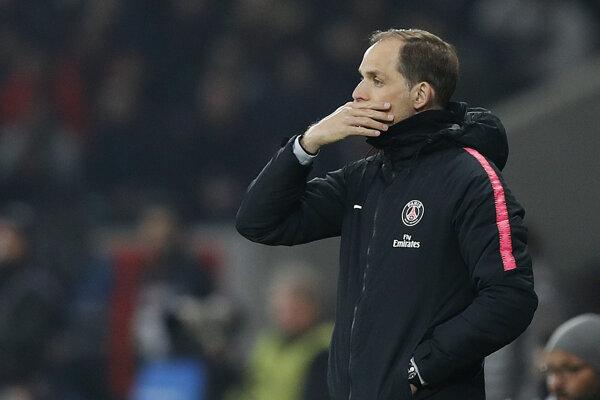 Tréner PSG Thomas Tuchel.