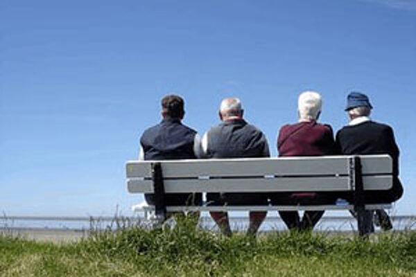 Slovenskí muži sú na dôchodku 16,3 roka, ženy 25,1 roka.