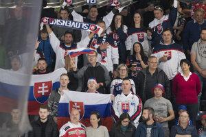 Radosť slovenských fanúšikov.