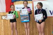 Gabriela Sofia Holeščáková (v strede) získala zlato.