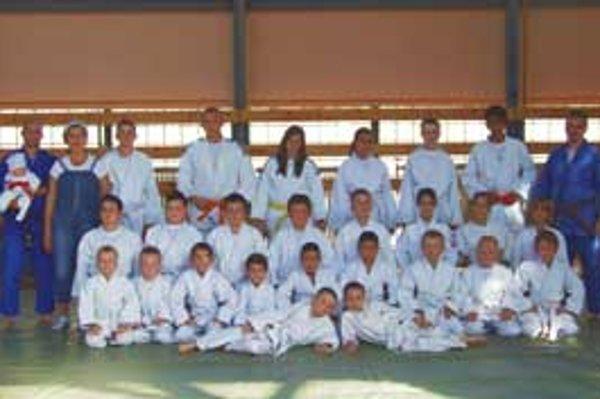 Mladí džudisti z Judo klubu Katsudo.