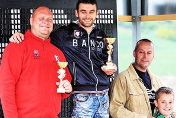 Víťazi 4. kola HRC v kategórii A3: Ferenc, Lajtoš, Valentíny.