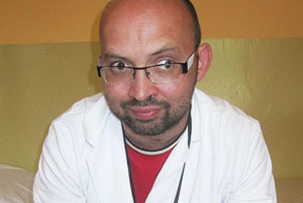 Psychiater lučeneckej nemocnice Peter Puci.