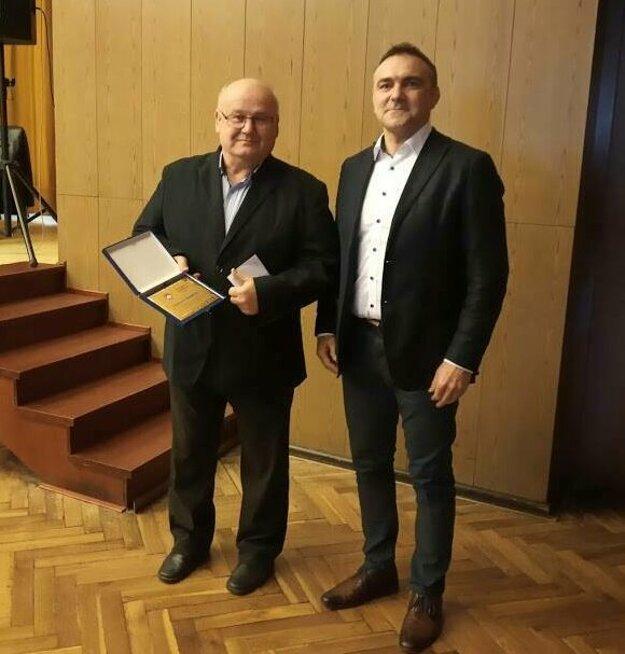 Ocenenie pre Libora Mokrého st.