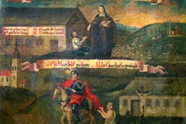 Olejomaľba z druhej polovice 18. storočia pochádza od neznámeho autora.