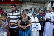 Smútok na Srí Lanke.