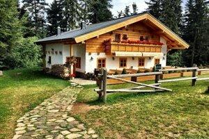 Dedečkova chata na Horehroní