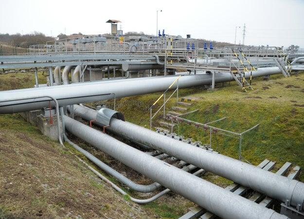 Areál prečerpávacej stanice Transpetrolu PS4 Šahy-Tupá, ktorý je súčasťou ropovodu Adria/Barátság I.