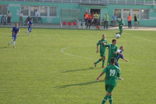 Zápas Rimavská Sobota - Senec sa skončil zaslúženou remízou.