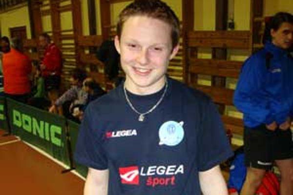 Michal Adámek. Jeho tréner verí, že zúročí to, čo má natrénované.