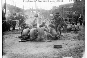 Igoroti sa dostali do ľudskej zoo kvôli tomu, že Filipíny boli kolóniou USA.
