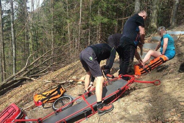 Horskí záchranári pomáhali holandskej turistke.