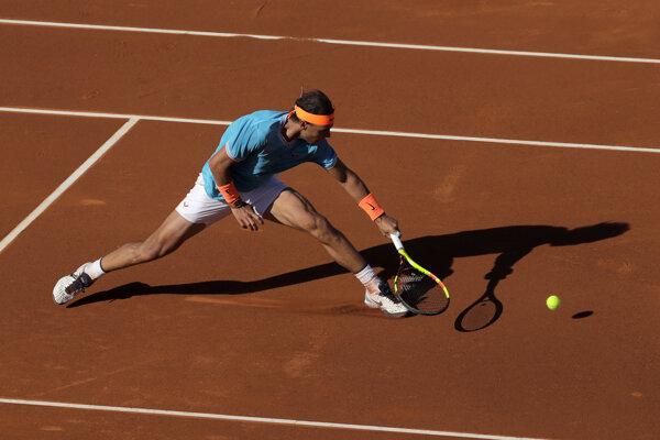 Rafael Nadal na turnaji ATP v Barcelone.