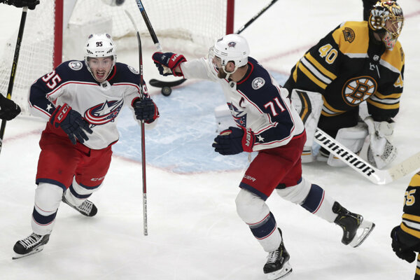 Boston Bruins - Columbus Blue Jackets.