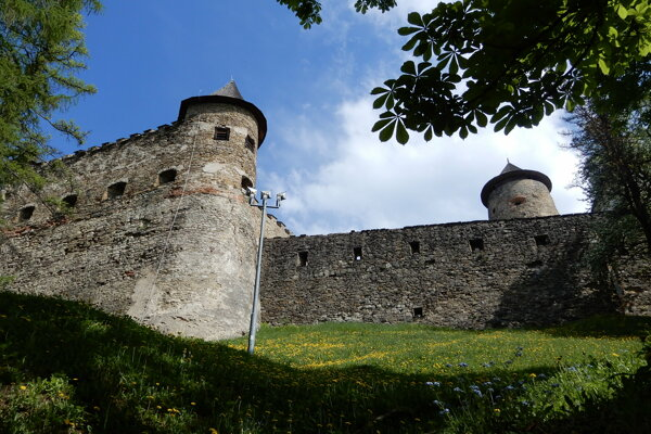 Ľubovniansky hrad.