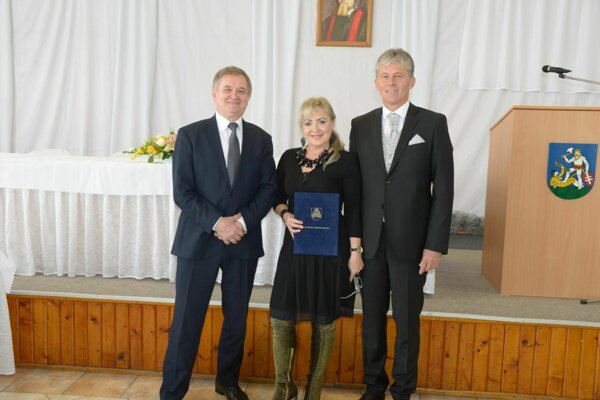 Milan Belica, Anna Mikulská aMiloš Bobula.