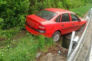 Nehoda pri Alpinke.